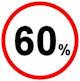 60% Aktion