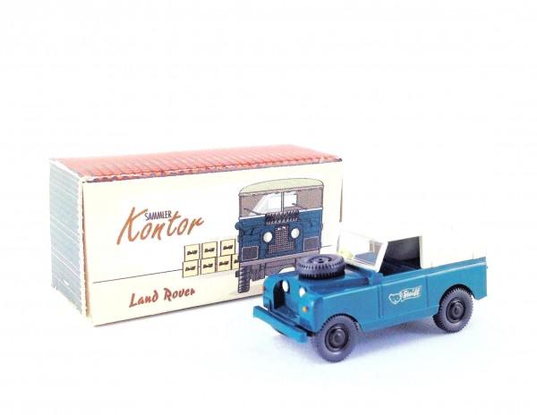 Wiking Land Rover Steiff blaugrün