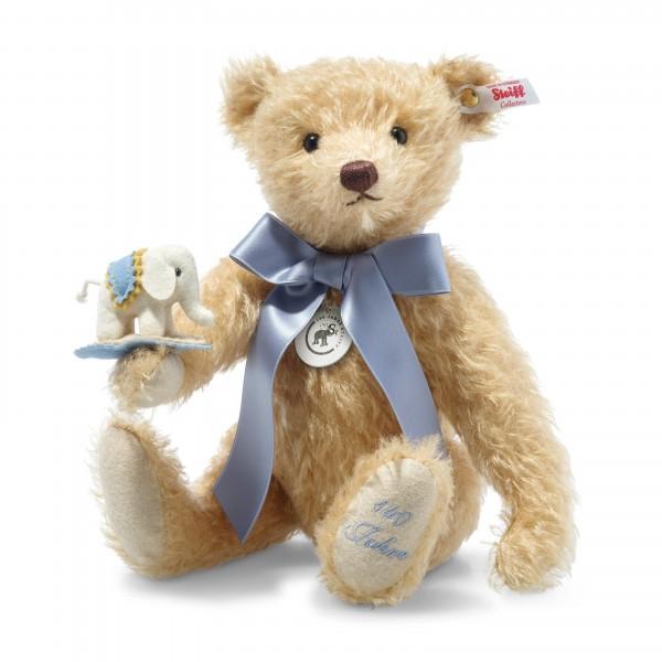 Steiff 006166 Teddybär 30 cm mit Elefäntle