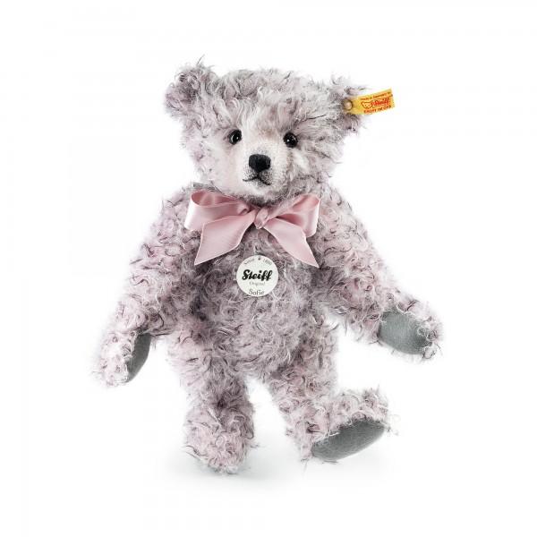 Steiff 000416 Classic Teddybär Sofie Mohair rosa gespitzt 30 cm