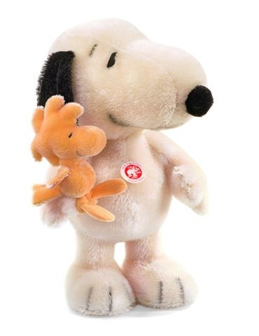Steiff 681387 Snoopy & Woodstock best friends Mohair 33 cm USA