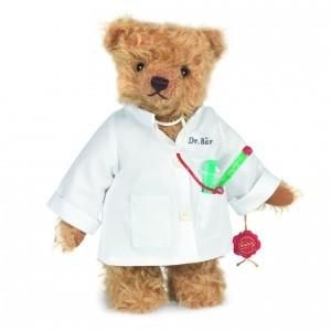 Teddy Hermann 146315 Dr. Bär Doktor Teddybär 28 cm