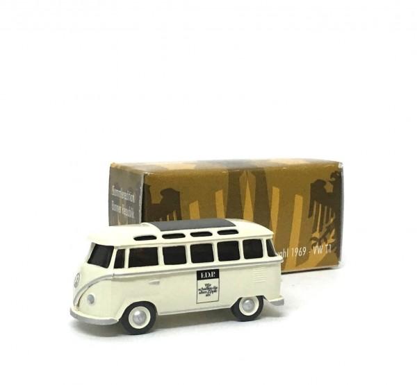 Wiking VW T1 Samba FDP Wahlkampfbus 1969