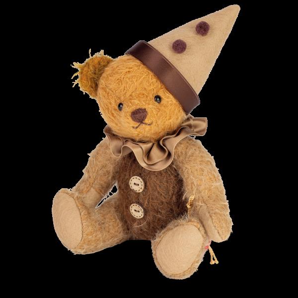 Teddy Hermann 119029 Teddybär Harlekin klein 23 cm