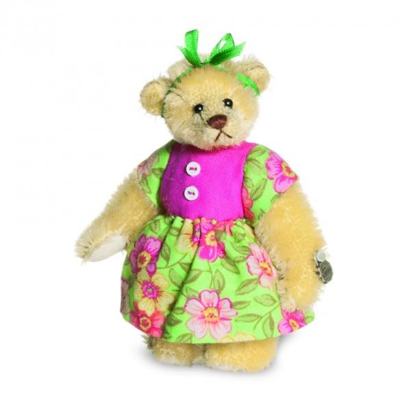 Teddy Hermann 157243 Teddybär Rita Miniatur Mohair 9 cm