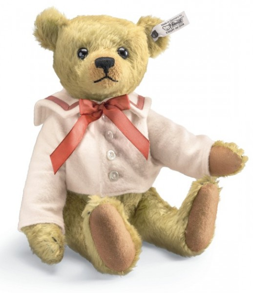 Steiff 403149 Teddybär Archie 1910 Replica Mohair 32 cm