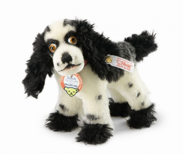 Steiff 682759 Butch, the Cover Dog Mohair 20 cm