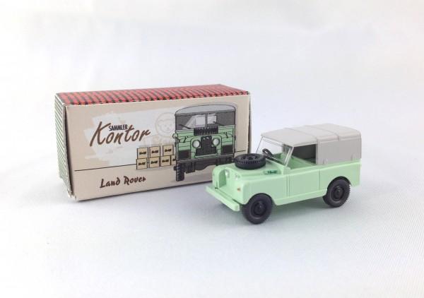 Wiking Land Rover Steiff weißgrün