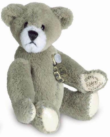 Teddy Hermann 153665 Teddy Taupe Miniatur 5 cm