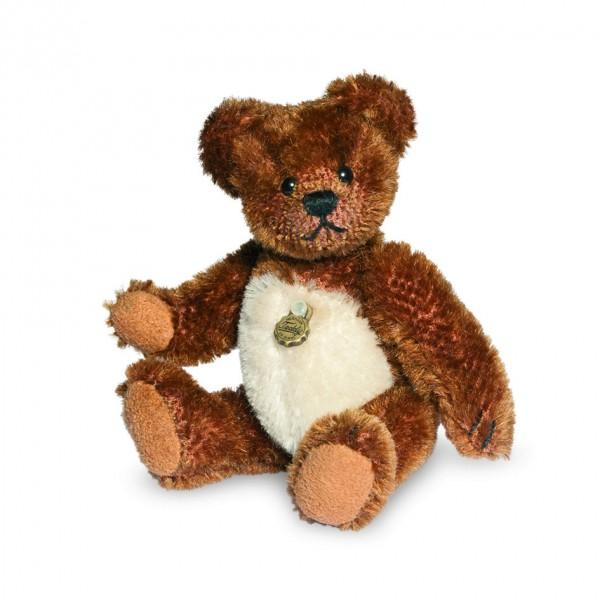 Teddy Hermann 162872 Teddybär Dominik Miniatur 10 cm