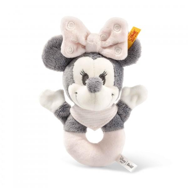 Steiff 290060 Minnie Mouse Greifring mit Rassel 13 cm