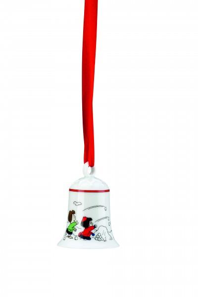 Hutschenreuther PEANUTS Weihnachtsglocke Snoopy und die Peanuts
