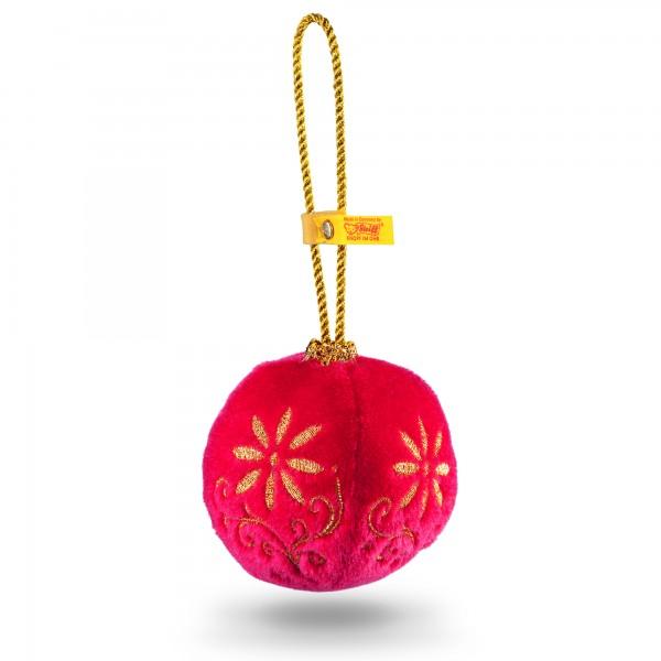 Steiff 028885 Plüschkugel Ornament Mohair 8 cm