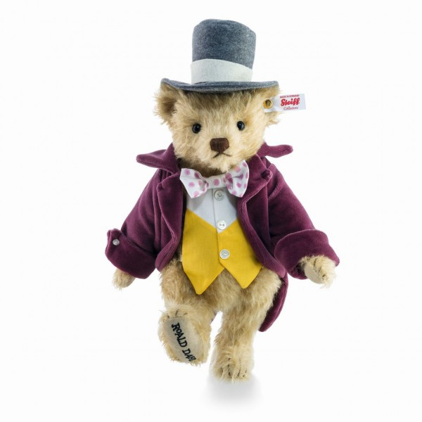 Steiff 664939 Willy Wonka Teddybär 28 cm