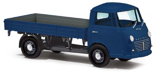 DreiKa Goliath Express 1100 Pritschenwagen blau