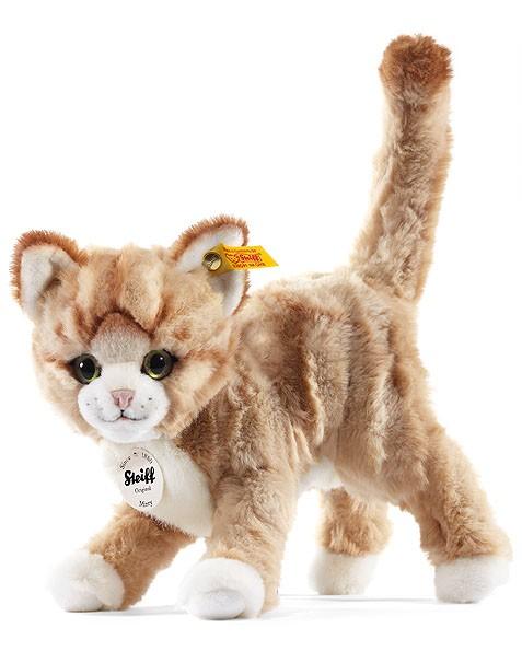 Steiff 099342 Mizzy Katze blond gestromelt stehend 25 cm