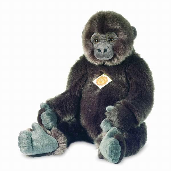 Teddy Hermann 929451 Affe Berggorilla 45 cm Plüschtier Gorilla