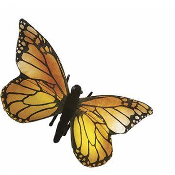 Hansa 6551 Schmetterling gelb 13 cm