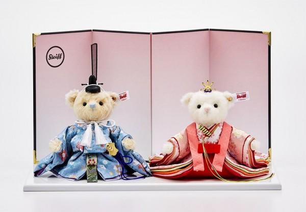 Steiff 678776 Teddybären Hina-Puppen (Sakura Usagi) 2019