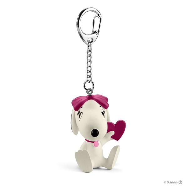 Schleich 22037 Schlüsselanhänger Belle mit Herz