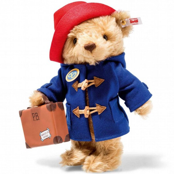 Steiff 690495 Paddington Bear - 60th Anniversary 28 cm