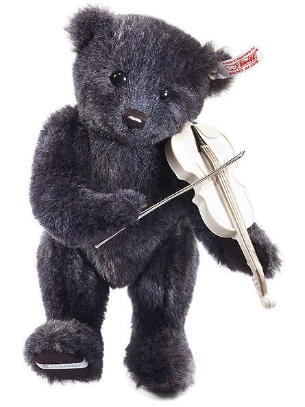 Steiff 677526 Lladro Geigenspieler Teddybär 26 cm