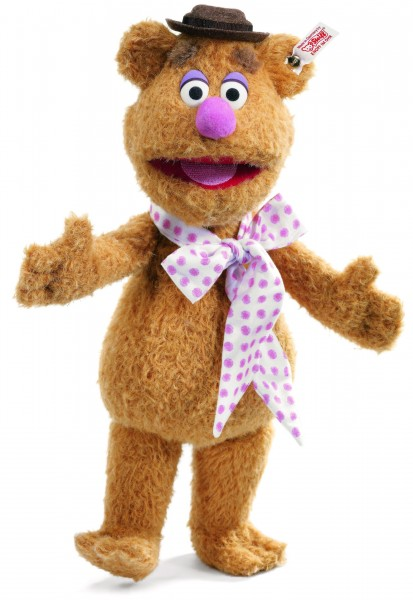 Steiff 681707 Fozzie Bear, The Special Edition Alpaca 38 cm USA