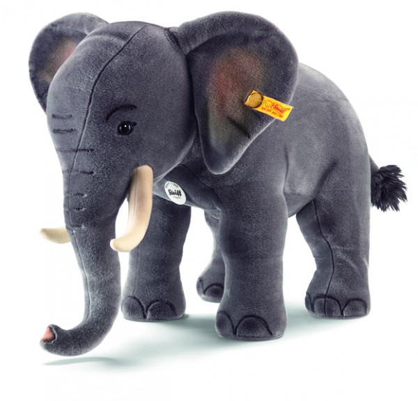 Steiff 501470 Studio Elefant grau Webpelz 75 cm