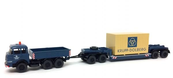 Wiking Krupp Schwerlastzug Verkehrsstelle Essen / Krupp-Dolberg
