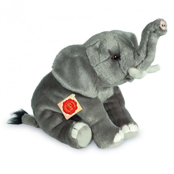 Teddy Hermann 907299 Elefant 28 cm