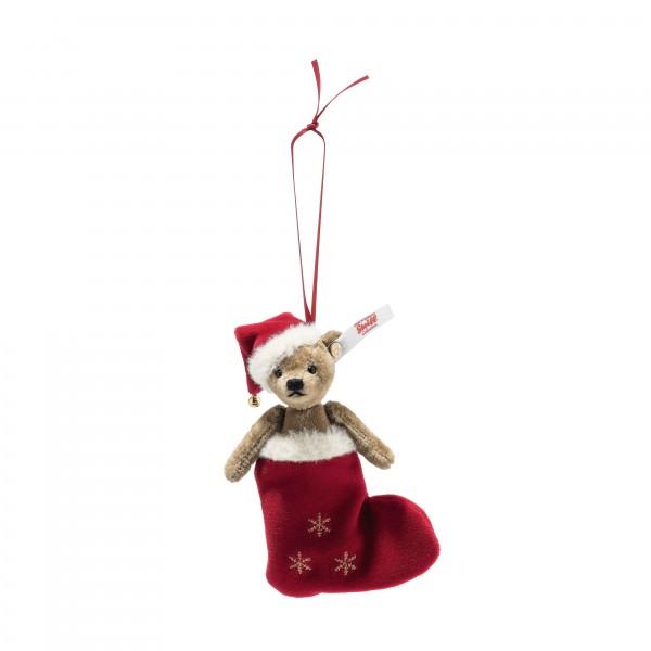 Steiff 006043 Weihnachtsteddybär Ornament 12 cm