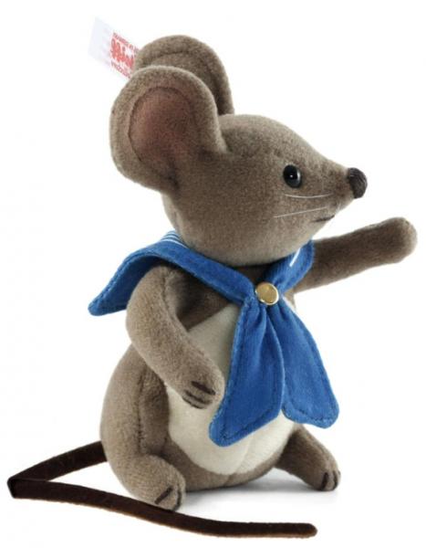 Steiff 683428 Bleu Squeeker Mouse 9 cm