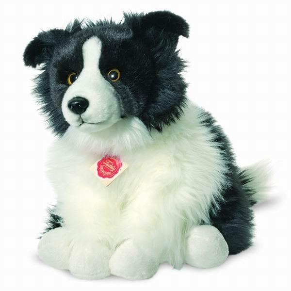 Teddy Hermann 927716 Hund Border Collie 30 cm Plüschtier