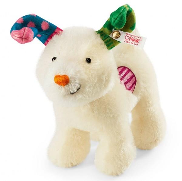 Steiff 664083 Snowdog 16 cm Mohair stehend