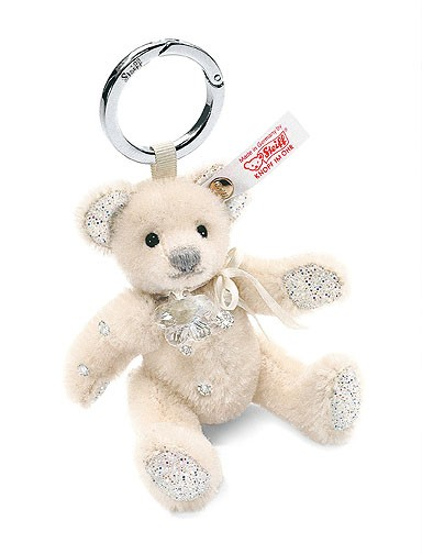 Steiff 036316 Chrystal Teddybär Taschenanhänger 11 cm mit Swarovski Elements