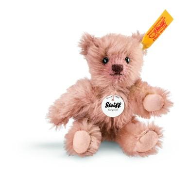 Steiff 040290 Mini Teddybär Mohair rotbraun 10 cm