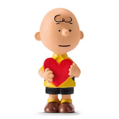 Schleich 22066 Charlie Brown mit Herz