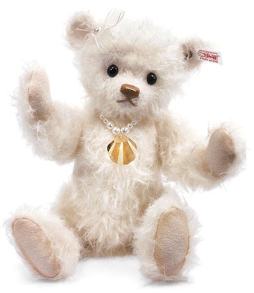 Steiff 035784 Shelly Teddybär Mohair 29 cm limitiert mit Swarovksi Elements