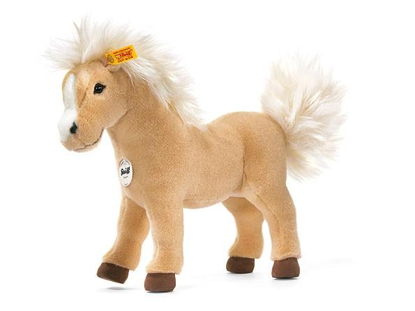 Steiff 070686 Pferd Franzi Haflinger 32 cm stehend