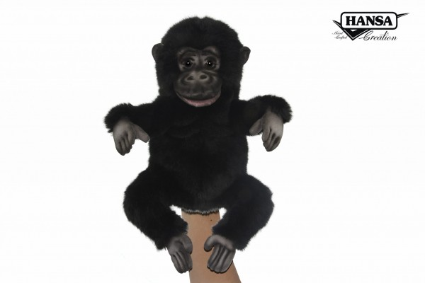 Hansa 7958 Gorilla Handpuppe 30 cm