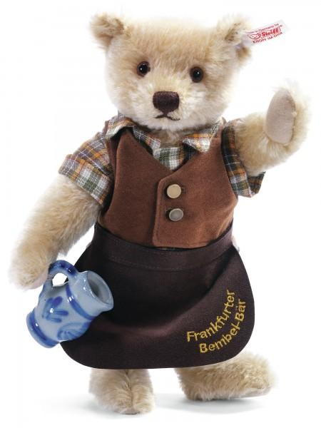 Steiff 673436 Teddybär Äppelwoi Bembel-Bär 26 cm Mohair