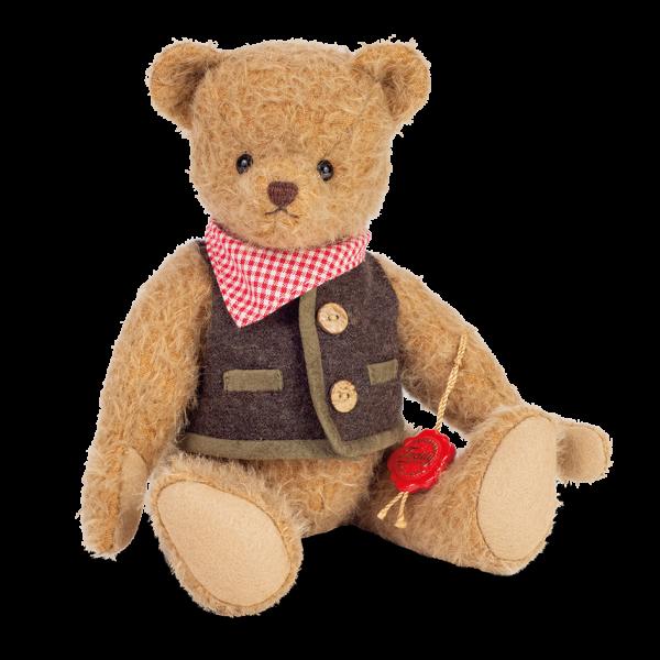 Teddy Hermann 172758 Teddybär Trachtenbär Luiz 28 cm