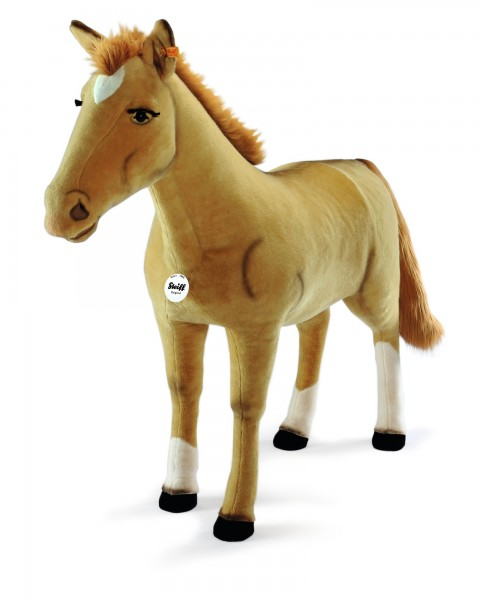 Steiff 523403 Studio Pferd Pony 160 cm Webpelz