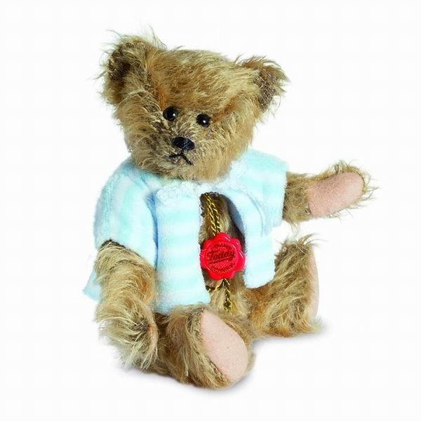 Teddy Hermann 147114 Teddybär Michi mit Jacke 18 cm