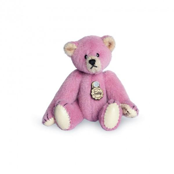 Teddy Hermann 154136 Teddybär rosé Miniatur 6 cm