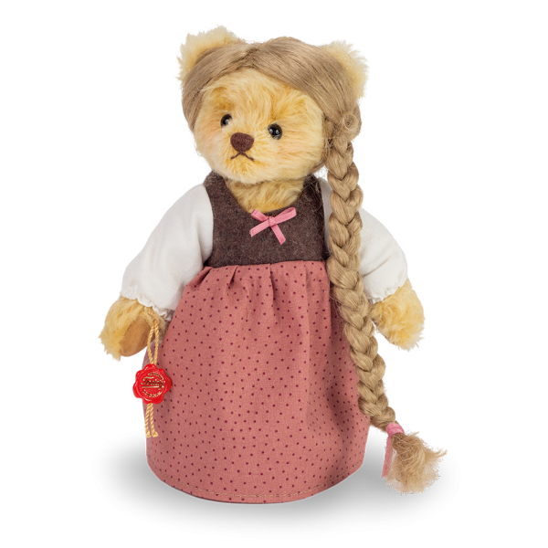 Teddy Hermann 118534 Teddybär Rapunzel 22 cm