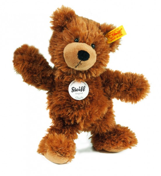Steiff 012891 Charly Schlenker Teddybär braun 23 cm kuschelweich