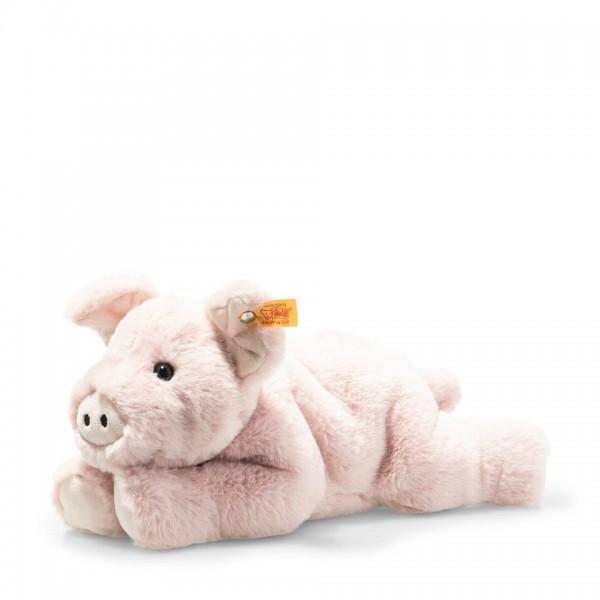 Steiff 063978 Piko Schwein 28 cm rosa liegend