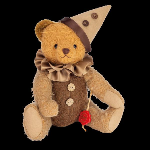 Teddy Hermann 119036 Teddybär Harlekin 30 cm