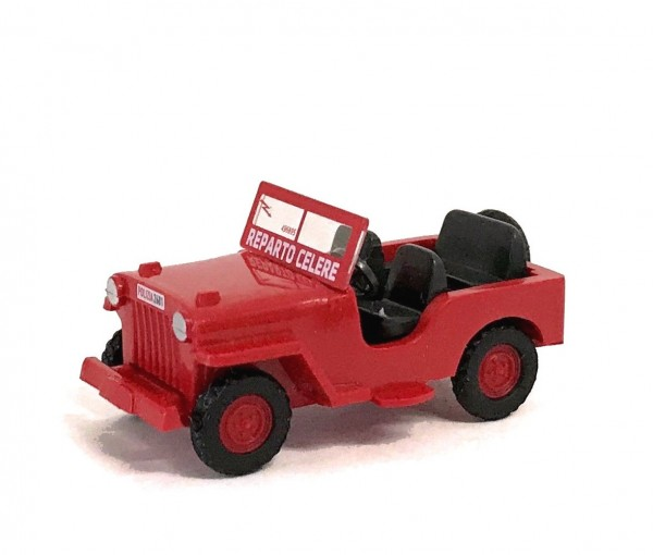 Wiking Willys Jeep M38 Polizia di Stato - Reparto Celere